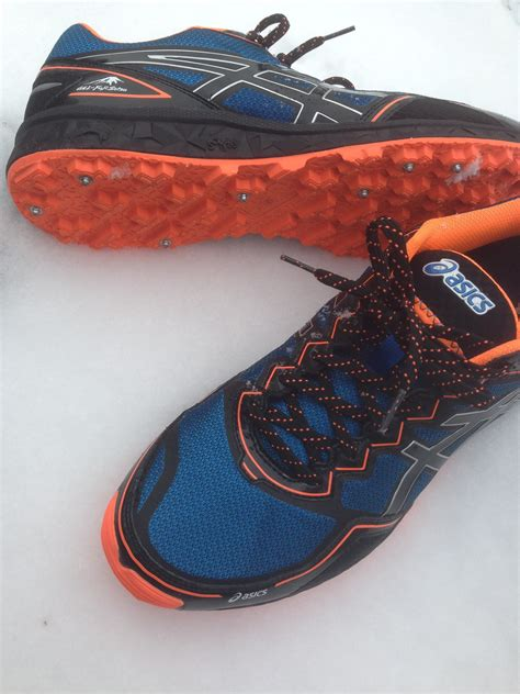 running shoes winter possibly the best winter running shoe asics gel fuji