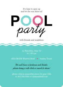 Swimming Pool Invitations Templates by Invitation For Swimming