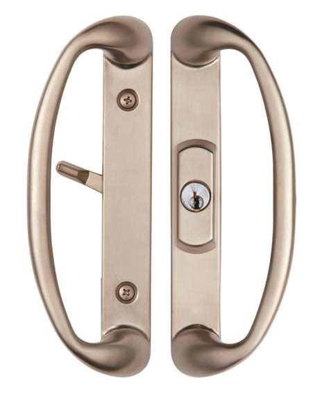 Sonoma Sliding Door Handle With Key Lock System Sliding Glass Door Latch Hardware