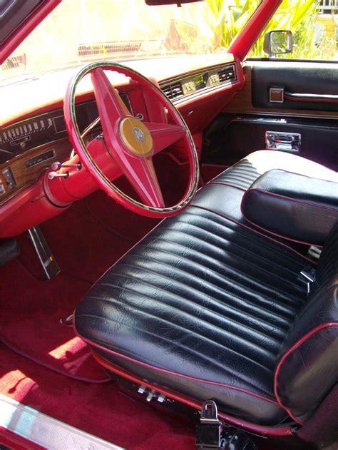 eldorado upholstery 1972 cadillac eldorado custom convertible 133163