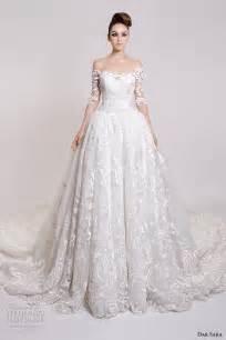 wedding dresses with the shoulder sleeves dar 2016 wedding dresses wedding inspirasi