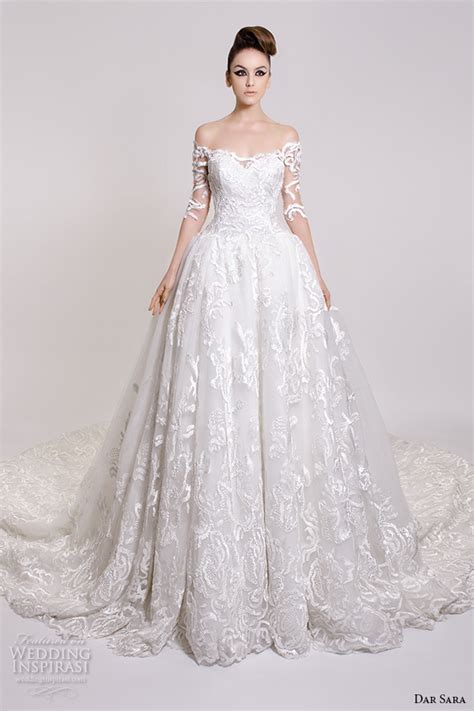 Pretty Wedding Dresses With Sleeves by Dar 2016 Wedding Dresses Wedding Inspirasi