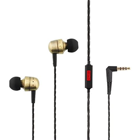 Aukey Ep C2 Earphone With Microphone aukey high performance in ear headphone earbuds with in line mic metal housing mic