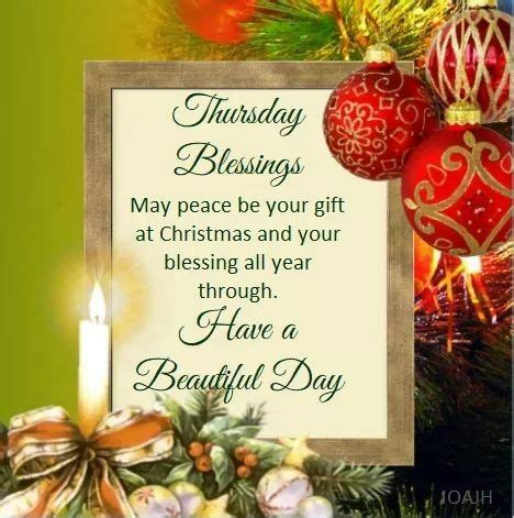 thursday blessings merry christmas quotes