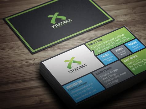 business cards templates coaching flat corporate personal business card landisher