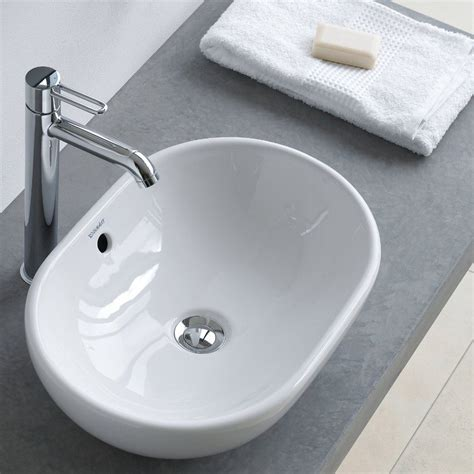 bathroom basin tops foster counter top basin by duravit just bathroomware