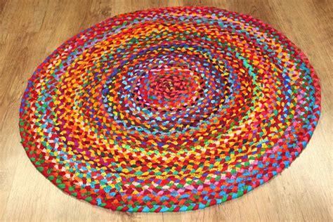 runder teppich klein runda mattor fl 228 multi trendcarpet se