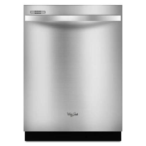 whirlpool gold top dishwasher in monochromatic
