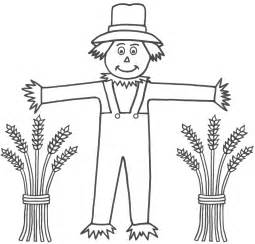 free printable scarecrow template free coloring pages of scarecrow template