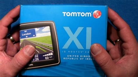 tutorial actualizar gps tomtom xl tomtom xl gps device unboxing first thought s youtube
