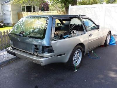 lifted porsche 944 incomplete 944 shooting brake project