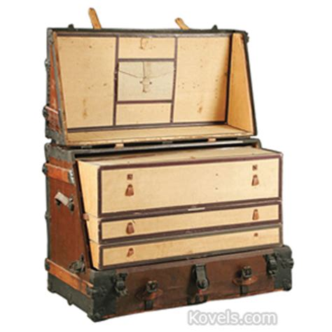 Steamer Trunks With Drawers by Trunks