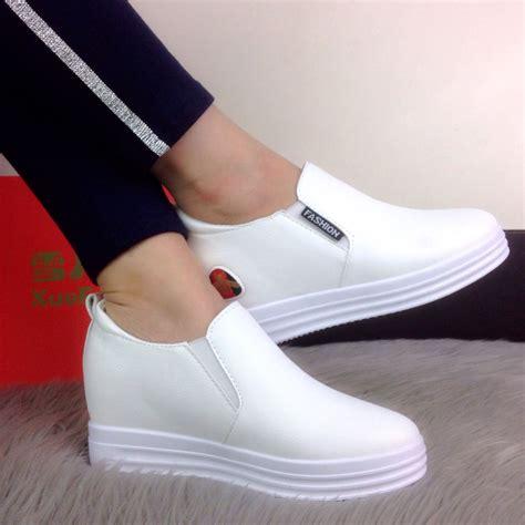 Sepatu Wanita Grosir jual sepatu wanita wedges tanpa tali import termurah