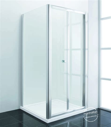 New Shower Doors Manhattan Shower Doors Manhattan New Era 6 Bifold Shower Door 800mm C80f4866ncc Manhattan New