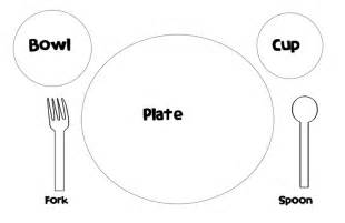 place setting template place setting placemat pre k here i come pinterest places place settings and placemat