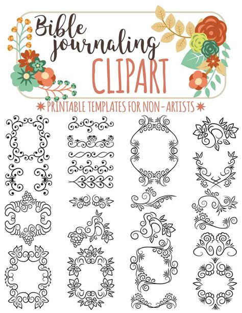 faith fear bible study lettering and watercolor books 158 best images about cliparts for bible journaling on