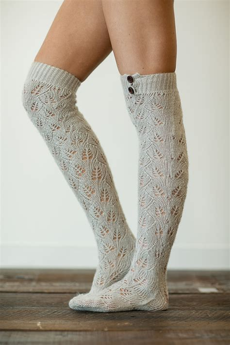 knitting pattern boot socks knitted boot socks lacy knit socks boot toppers over