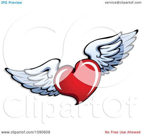 heart wing logo clip art vector clip art online royalty winged heart clipart 69