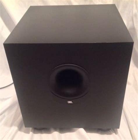 Speaker Subwoofer 100 Watt jbl sub 135 powered subwoofer 100w great condition lifier speaker watt a what s it worth