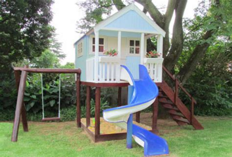 most creative treehouses with swing and slide
