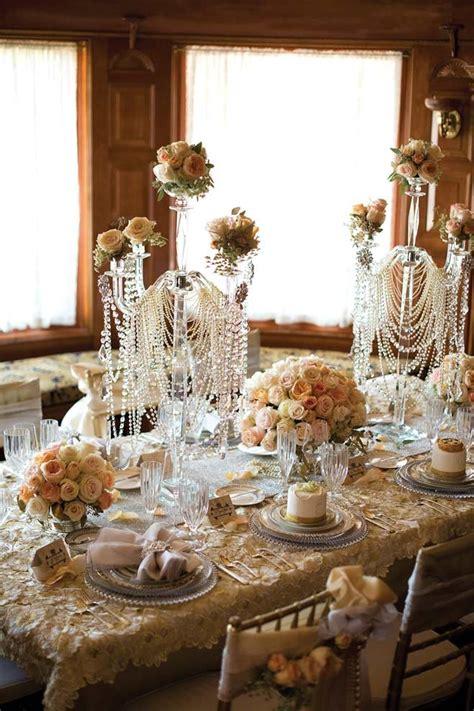 8 Great Themed Wedding Ideas by The Jazz Age Great Gatsby Inspired Wedding Decor Bridal