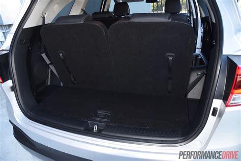 Kia Sorento Cargo Space by 2015 Kia Sorento Sli V6 Review Performancedrive