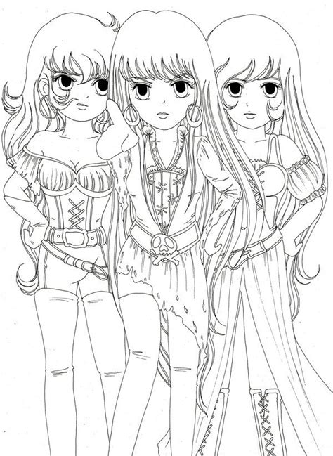 Image Detail For Cute Anime Coloring Pages To Print My Anime Coloring Page Chibi Printable