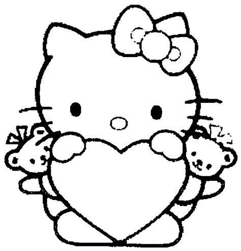 dibujos infantiles kitty fotos de hello kitty para colorear colorear im 225 genes