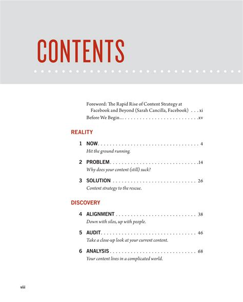 content layout pinterest table of contents design table of contents things i