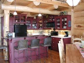 Log Home Kitchen Cabinets Pictures Of Log Home Kitchens Fun Times Guide To Log Homes