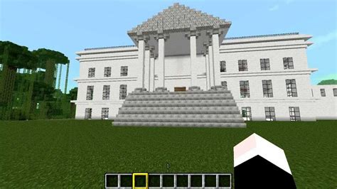 minecraft la invasian de la casa blanca en minecraft youtube