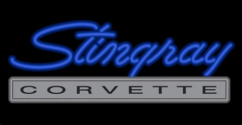 c3 corvette stingray neon sign chevymall