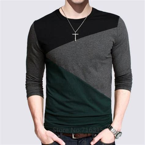 design t shirt long sleeve 12 designs 2016 fashion men s casual t shirts long sleeve