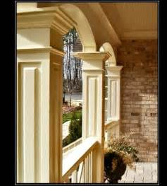 advanced cellular vinyl columns pvc bungalow and craftsman style porch columns