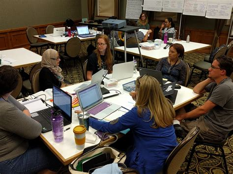 math teachers summer collaboration with office in