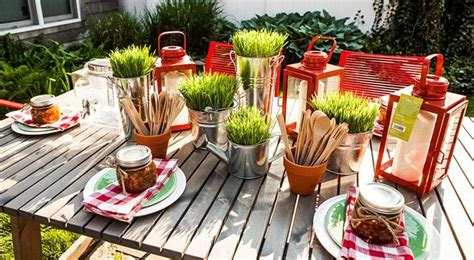Backyard Bbq Table Centerpieces 41 Best Images About Isaac S Graduation On