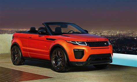 cool range rovers 2017 range rover evoque convertible cool material