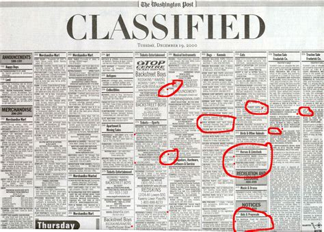 Daily News Classified Section by E Croatian American Times Newspaper