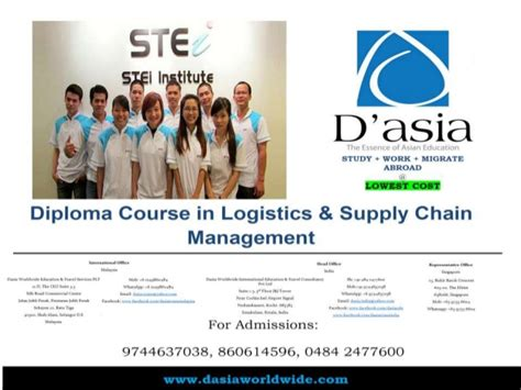 Distance Mba In Logistics And Supply Chain Management by Diploma Course In Logistics Supply Chain Management