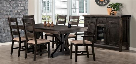 rafters dining room collection  handstone