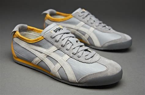 Sepatu Asics Onitsuka Tiger Biru Running Olahraga Casual Pria onitsuka tiger mexico 66 vin mens select footwear grey white clothing
