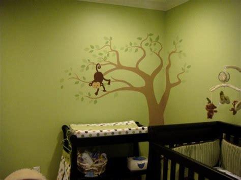 Monkey Themed Nursery Decor Monkey Themed Baby Nursery Ideas