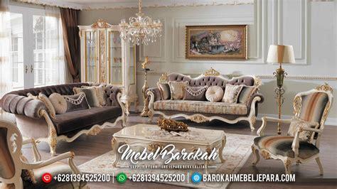 kursi sofa tamu eropa model klasik modern ukiran jepara