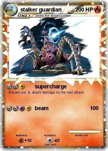 stalker card pok 233 mon stalker guardian supercharge my card