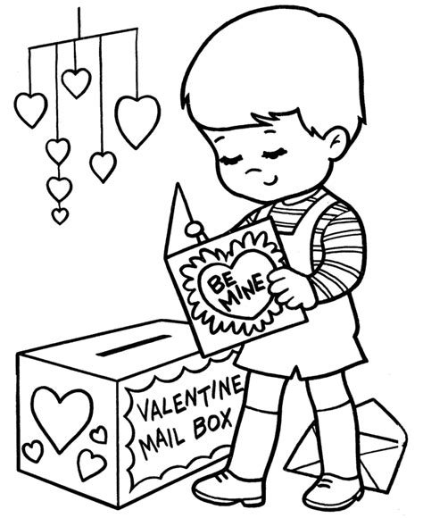 valentine s day coloring pages