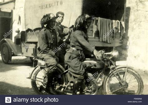 Parlour Army Gp italian motorcycle stock photos italian motorcycle stock