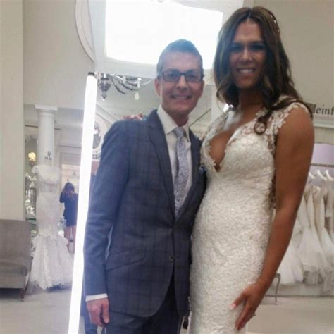 transgender female on yes to the dress gabrielle gibson becomes the first transgender bride to