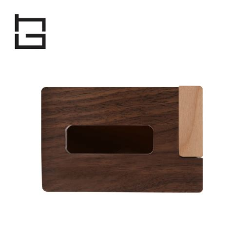 wood office desk business card holder office accessories creative solid wood cardcase business card holder portable wooden cardfile bank cardbox office