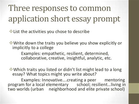 College Application Essay Prompts 2013 100 Original Essay Scholarships Prompts
