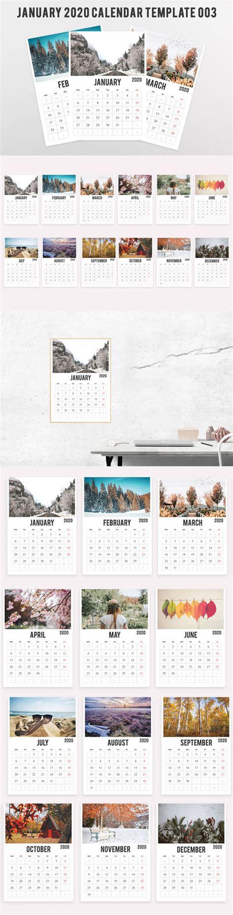 calendar printable psd template  months